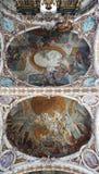 Дизайн потолка с орнаментами Стоковое фото RF