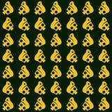 Дизайн предпосылки картины армии черепа иллюстрация штока