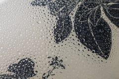 Дизайн предпосылки дождевой капли с космосом экземпляра Стоковое Изображение