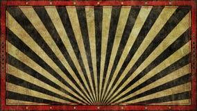 Дизайн предпосылки Grunge широкоэкранный ретро Стоковая Фотография