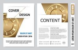 Дизайн представления книги крышки Стоковая Фотография RF