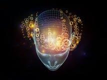 Дизайн разума Стоковые Изображения RF