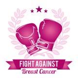 Дизайн рака молочной железы Стоковое Изображение RF