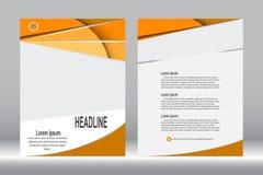 Дизайн рогульки, предпосылка шаблона брошюры бесплатная иллюстрация