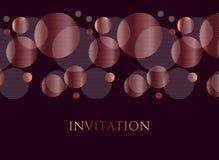 Дизайн розового золота и черного конспекта цвета геометрический Стоковое Изображение