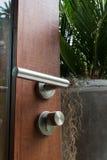 Дизайн ручки двери и двери ручки Стоковые Фото