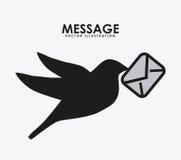 Дизайн сообщения бесплатная иллюстрация