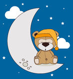 Дизайн спокойной ночи Стоковая Фотография