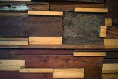 Дизайн старой деревянной предпосылки Стоковое Фото
