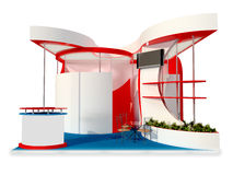 Дизайн стойки выставки стоковые фото