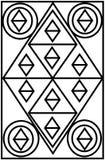 Дизайн строба в предпосылке иллюстрация штока