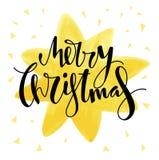 Дизайн с Рождеством Христовым рождественской открытки Стоковое фото RF