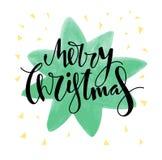 Дизайн с Рождеством Христовым рождественской открытки Стоковые Фотографии RF
