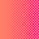Дизайн текстуры квадратов красочный с розовым апельсином красит backgrou Стоковая Фотография RF