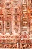 Дизайн терракоты в стене популярного виска Kantajew Стоковые Изображения RF
