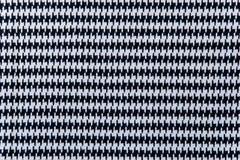 Дизайн ткани цвет белый и черный Стоковое Изображение RF