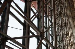 Дизайн ферменной конструкции подшипникового металла стоковая фотография