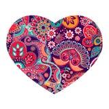 Дизайн формы сердца вектора иллюстрация штока