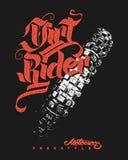 Дизайн фристайла Motocross для одеяния Бесплатная Иллюстрация