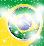 Дизайн футбола Стоковое Изображение