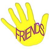 Дизайн футболки друзей стоковая фотография rf