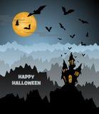 Дизайн хеллоуина стоковое изображение rf