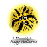Дизайн хеллоуина Стоковое фото RF