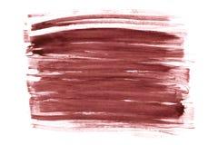 Дизайн хода акварели бургундской лозы красный абстрактный на бумажном tex стоковое изображение