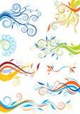 Дизайн цвета свирли Стоковые Фотографии RF