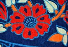 Дизайн цветка в одежде Стоковое Фото