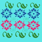 Дизайн цветков стоковая фотография