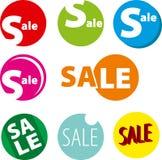 Дизайн шаблона знамени продажи Стоковые Изображения