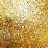 Дизайн шаблона на золоте блестящем. EPS 10 Стоковые Фотографии RF