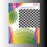 Дизайн шаблона рогульки брошюры листовки годового отчета Стоковая Фотография RF