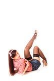 Дизайн штыря-вверх девушки стоковое изображение rf