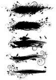 Дизайн щетки флористический Стоковые Изображения