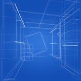 Дизайн эскиза внутреннего магазина Стоковые Изображения