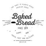 Дизайн ярлыка хлебопекарни Стоковая Фотография