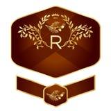 Дизайн ярлыка Стоковые Изображения RF