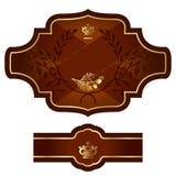 Дизайн ярлыка Стоковое Изображение RF