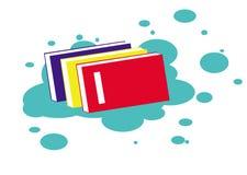 Дизайн Clipart книги Стоковые Фотографии RF
