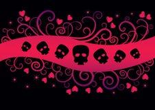 Дизайн Emo девушки Стоковые Фото