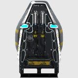 Дизайн Futur космического стула для специальных целей Стоковое Фото