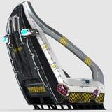 Дизайн Futur космического стула для специальных целей Стоковые Фотографии RF