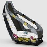 Дизайн Futur космического стула для специальных целей Стоковая Фотография RF