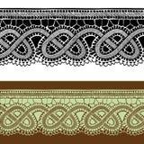 Дизайн set4 шнурка Стоковое Изображение