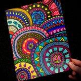 Дизайн Zentangle стоковая фотография