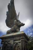 Дикий кабан Hogsmeade подогнали статуей, который Стоковые Фотографии RF