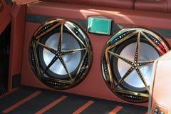 Дикторы автомобиля стоковые изображения rf