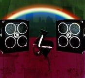 дикторы breakdancer Стоковая Фотография RF
